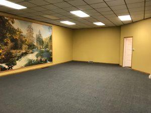 Main space, from door