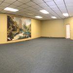 panorama of main space from door