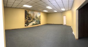 panorama of main space from door