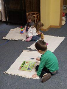 Four Children At Work