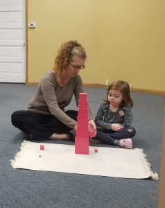 Noëlle Presents the Pink Tower