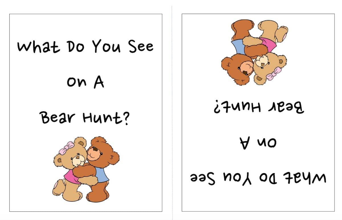 Bear Hunt booklet image
